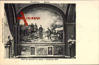 Berlin, Zeughaus, Nach der Schlacht bei Sedan, 1. Septemberg 1870, Wilhelm 1