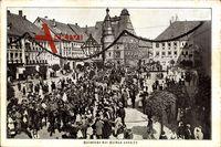 Hildburghausen Thüringen, Heimkehr der Helden 1870/71