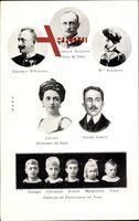 König Friedrich August III. von Sachsen, Luise von Toskana, André Giron