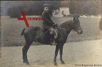 Prinz Eugen von Anhalt auf einem Pferd, Frühe Jahre