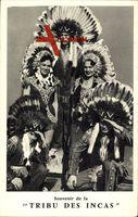 Vue générale de la Tribu des Incas, Des Indiens