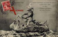 Montpellier Hérault, Carnaval 1909, 1er Prix, Riquet à la Houppe