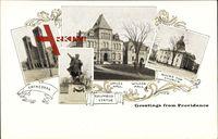 Providence Rhode Island, Cathedral, Columbus Statue, Sayles Hall, Wilson Hall