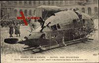 Paris, Musée de l'Armée, Hotel des Invalides,Nacelle arrière du Zeppelin L 49