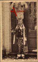 La Louvière Wallonien Hennegau, Le Carnaval, Un gille en grande tenue