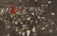 Kevelaer am Niederrhein, Marktplatz, Mobilmachung 1914, Kapelle