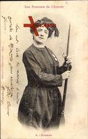 Les Femmes de l'Avenir, Frauen der Zukunft, Zouave, Frau, Uniform
