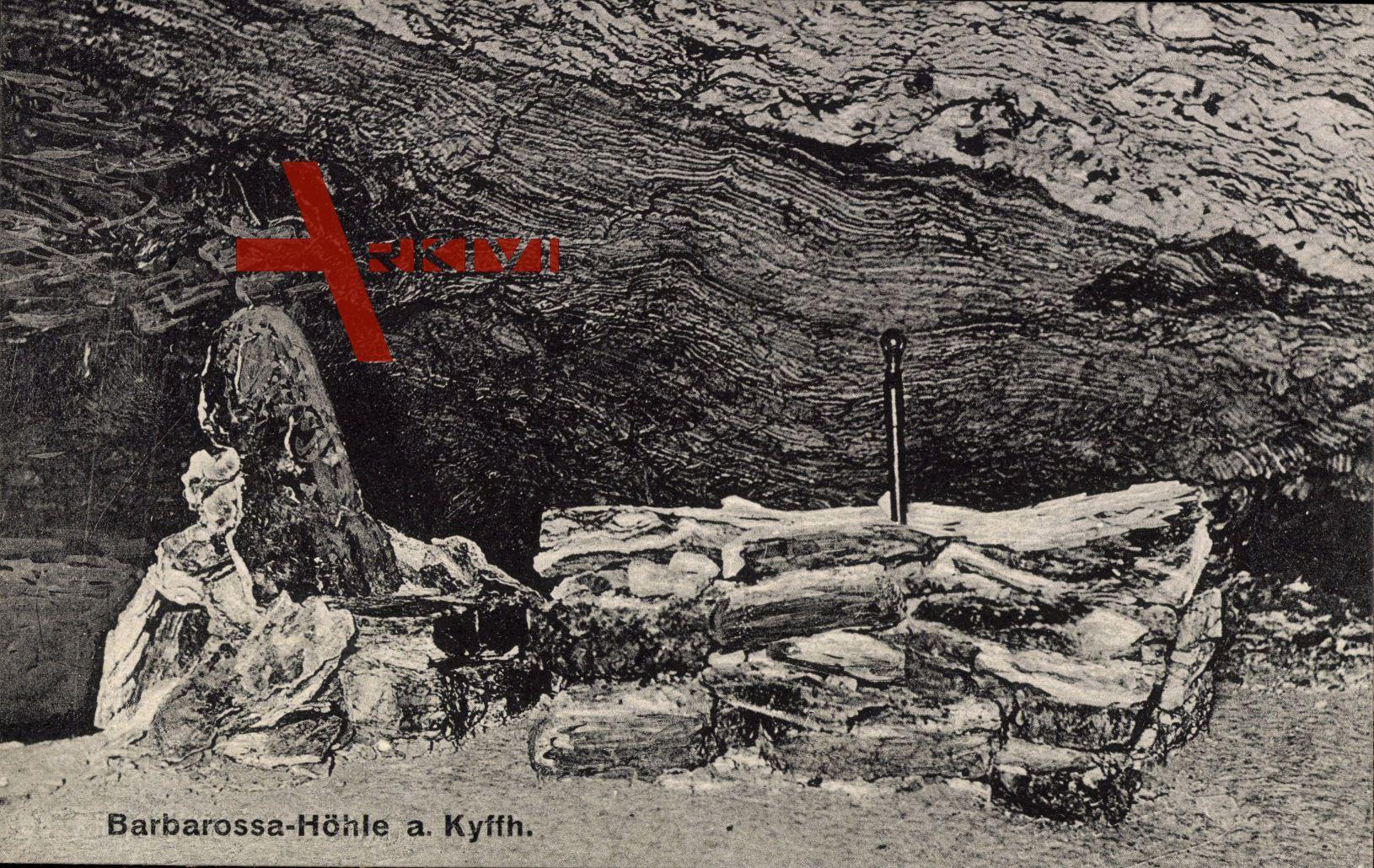 Bad Frankenhausen Kyffhäuser, Eingang der Barbarossa Höhle