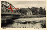 Itzehoe Schleswig Holstein, Breitenburger Fähre, Brücke, Schilf