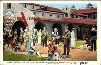 Albuquerque New Mexico, Entrance to the Indian Building