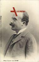 Prinz Eduard von Anhalt, Portrait, Profil links, Zwicker