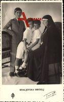 Kraljevska Obitelj, Maria von Jugoslawien mit Prinzen