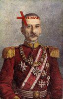König Peter I. von Jugoslawien, Portrait, Uniform, Orden