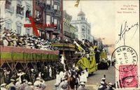 New Orleans Louisiana, King's Float, Mardi Gras Parade