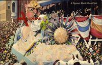 New Orleans Louisiana, Mardi Gras, A typical Mardi Gras Float