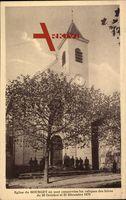 Bourget, Eglise où sont conservées les reliques des héros de 1870