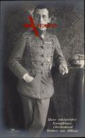 Kampfflieger Oberleutnant Ernst Freiherr von Althaus, Sanke 430, Merite