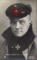 Rittmeister Manfred Freiherr von Richthofen, Portrait, Roter Baron, Sanke 503