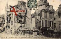 Saint Cloud Val d'Oise, La Place d'Armes après la guerre 1870 - 71