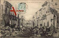 Châteaudun Eure et Loir, La Rue Dunoise, Octobre 1870