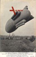 Le Ballon dirigéable Ville de Paris, Militärballon, Zeppelin
