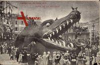 Nice en Alpes Maritimes, Carnaval 1905, Char de la Musique