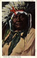 Frontier Days, Cheyenne, Wyoming, An Arapahoe Indian Chief