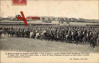 La Messe au Camp de Chalons, avant 1870, Quartier impérial