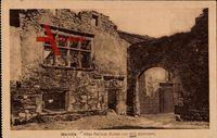 Marville Meuse Frankreich, Altes Rathaus, Ruinen von 1870 stammend