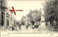 Charny Yonne, Monument élevé, à la mémoire des Combattants de 1870