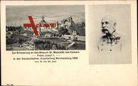 Liberec Reichenberg Stadt, Deutsch Böhm. Ausstelluing 1906,Kaiser Franz Josef