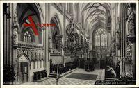 Xanten Kreis Wesel, Der St. Victors Dom, Chorgestühl und Lettner