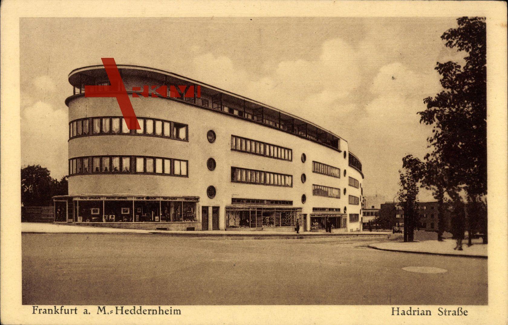 Frankfurt am Main, Das Heddernheim in der Hadrian Straße