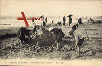 Mers les Bains Somme, Construction sur le Sable