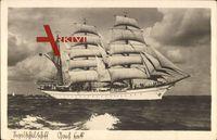 Segelschiff Gorch Fock - Schulschiff der Kriegsmarine um 1941