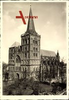 Xanten in Nordrhein Westfalen, Ansicht des Doms St. Viktor