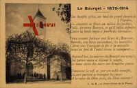 Le Bourget Savoie, 1870 - 1914, poème, une humble église, chemin de Flandre