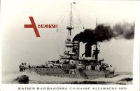 Kriegsschiff Kaiser Barbarossa, Cuirassée Allemagne 1905