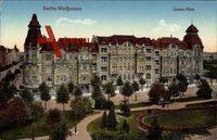 Berlin Weißensee, Ansicht eines Wohnhauses am Lindenplatz