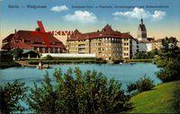 Berlin Weißensee, Gemeinde Turn und Festhalle, Verwaltungshaus, Kirche