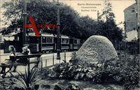 Berlin Weißensee, Bismarckstein, Straßenbahn, Berliner Allee