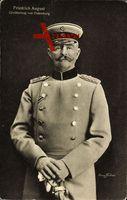 Großherzog Friedrich August von Oldenburg, Uniform, Säbel, Schirmmütze
