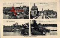Berlin Weißensee, Berliner Allee, Antonplatz, Pistoriusstraße, Goldfischteich
