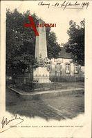 Charny Yonne, Monument élevé à la Mémoire des Combattants de 1870 - 1871