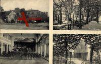 Uelzen, Gesellschaftshaus Drei Linden, Innenansicht, Laubengang