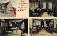 Uelzen, Hotel Lüneburger Hof, August Füseler, Gastzimmer, Billardzimmer