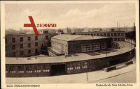 Berlin Lichtenberg, Fischerstraße, Ecke Schlicht Allee, Nöldnerplatz