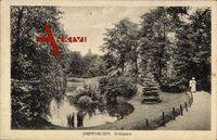 Oberhausen Rhein, Grillopark, Kirche, Teich, Spazierende