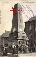 Bazeilles Ardennes, Le Monument commémoratif de la bataille, 1870