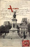 Sedan Ardennes, Monument du 1870, oeuvre du sculptur Croizy